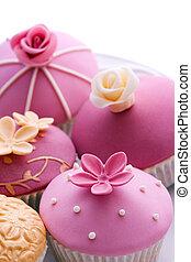 bryllup, cupcakes