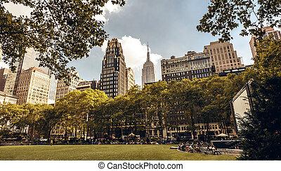 brynat, parque, york, nuevo