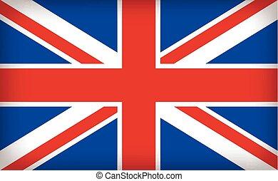 brytyjski, zrzeszeniowa dźwigarka, bandera