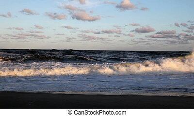 brzeg, transoceaniczna woda