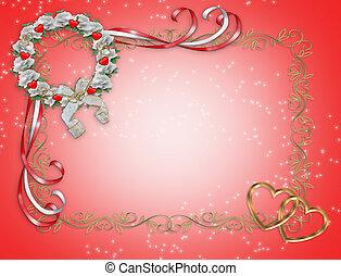 brzeg, wieniec, projektować, valentine