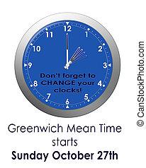 bst, clocks, -, changement, gmt