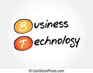 bt, -, ビジネス 技術