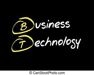 bt, -, bedrijfstechnologie