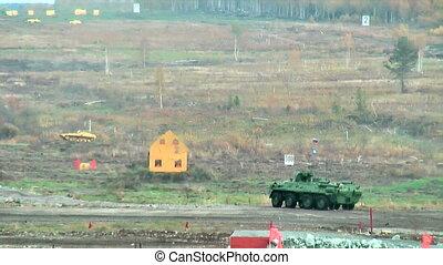 BTR-82A armoured personnel carrier - Nizhniy Tagil, Russia -...