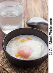 Bua Loi, Dessert of Thailand - Dumplings in coconut cream,...