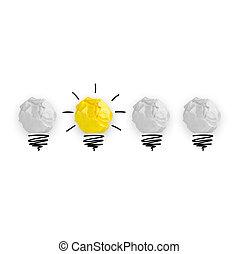 bub, ライト, 概念, 考え, 大きい