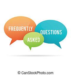 bub, frequently, 質問, 尋ねられた, 話