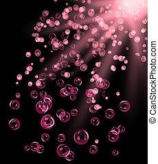 bubbla, illusion.
