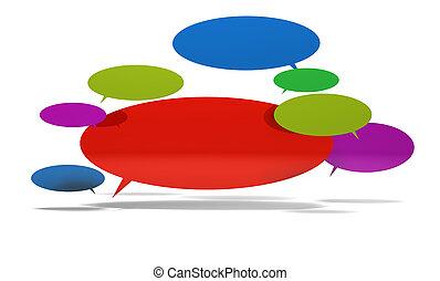 bubblar, anförande, 3