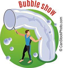 Bubble Show Background