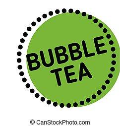 bubble tea label