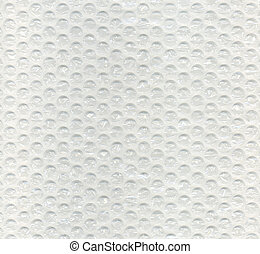 Bubble wrap texture used for precious transport