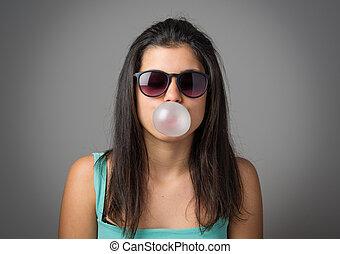 bubblegum, 女孩