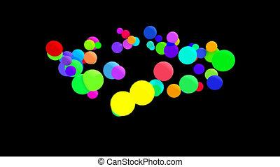 Bubbles - Digital animation
