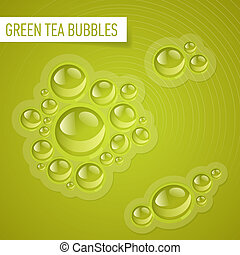 Bubbles for drink