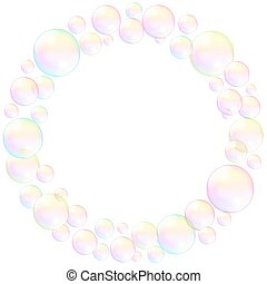 Bubbles Frame Ring