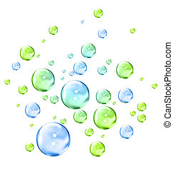bubbles illustration