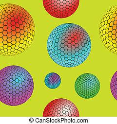 bubbles seamless texture