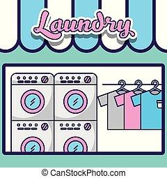 bucato, pulizia, relativo