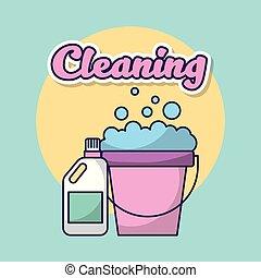 bucato, pulizia, vestiti