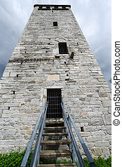 Buccione Tower on Orta Lake, Italy