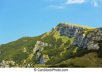 Bucegi mountain lanscape