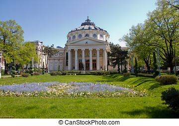 Bucharest atheneum - The atheneum of bucharest in 23.04.2011