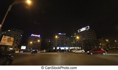 Bucharest By Night Before Christmas, December 2011