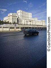 Bucharest - Palace of Parliament, Bucharest, Romania and...