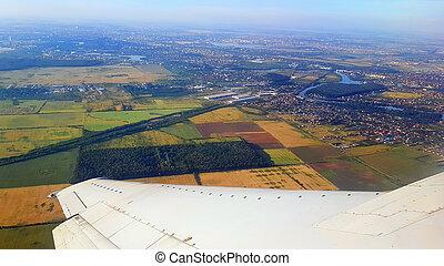 bucharest, vue aérienne