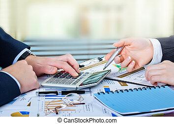 Buchhaltung, Geschaeftswelt