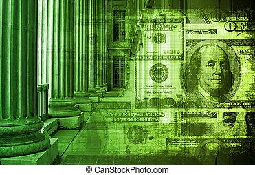 buchhaltung, und, finanz