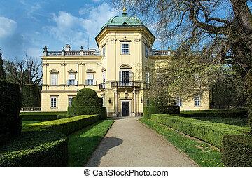 buchlovice, castillo, en, moravia, república checa