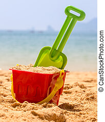 Bucket By The Ocean - Summer Holiday Vacation