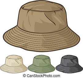 bucket hat collection (bucket hat set)