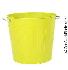Bucket isolated on white background