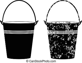 Bucket on a white background vector eps 10