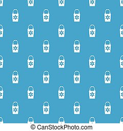 Bucket pattern seamless blue