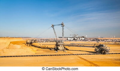 Bucket Wheel Excavator Timelapse