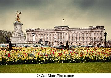 Buckingham Palace in London, the UK