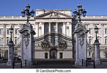 Buckingham Palace taken on August 23, 2010, in London