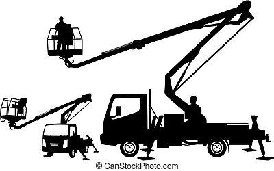 buckrt truck silhouettes