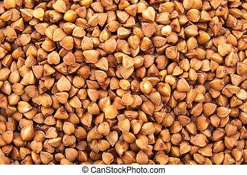 Buckwheat closeup