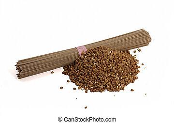 Buckwheat Japanese noodle - Soba - Buckwheat Japanese noodle...