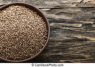 buckwheat place for text