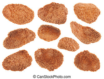 Buckwheat-wheat flakes snack set