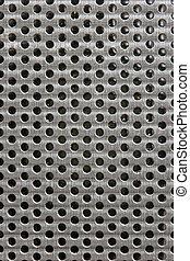 buco, metallo, struttura