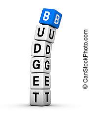 budżet, rozkład