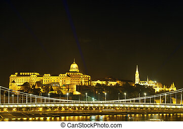 Buda Castle and Fisherman Bastion